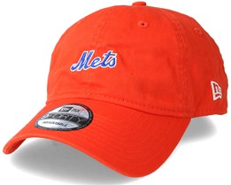 New York Mets Mini Wordmark 9Forty Orange Adjustable - New Era