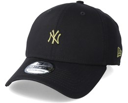 New York Yankees Mini Logo 39Thirty Black/Olive Flexfit - New Era