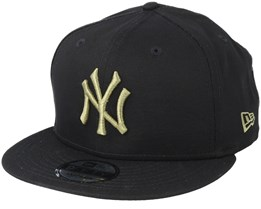 New York Yankees League Essential 9Fifty Black/Olive Snapback - New Era