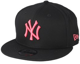 New York Yankees League Essential 9Fifty Black/Pink Snapback - New Era