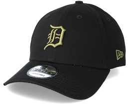 Detroit Tigers League Essential 9Forty Black Snapback - New Era