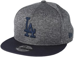 Los Angeles Dodgers Heather Jersey 9Fifty Heather Grey Snapback - New Era