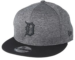 Detroit Tigers Heather Jersey 9Fifty Heather Grey Snapback - New Era