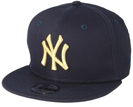 Kids New York Yankees Golden 9Fifty Black Snapback - New Era