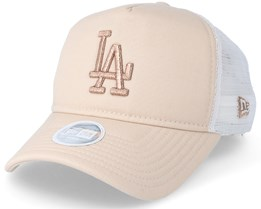 Premium Trucker Women Stone/Gold Trucker - New Era