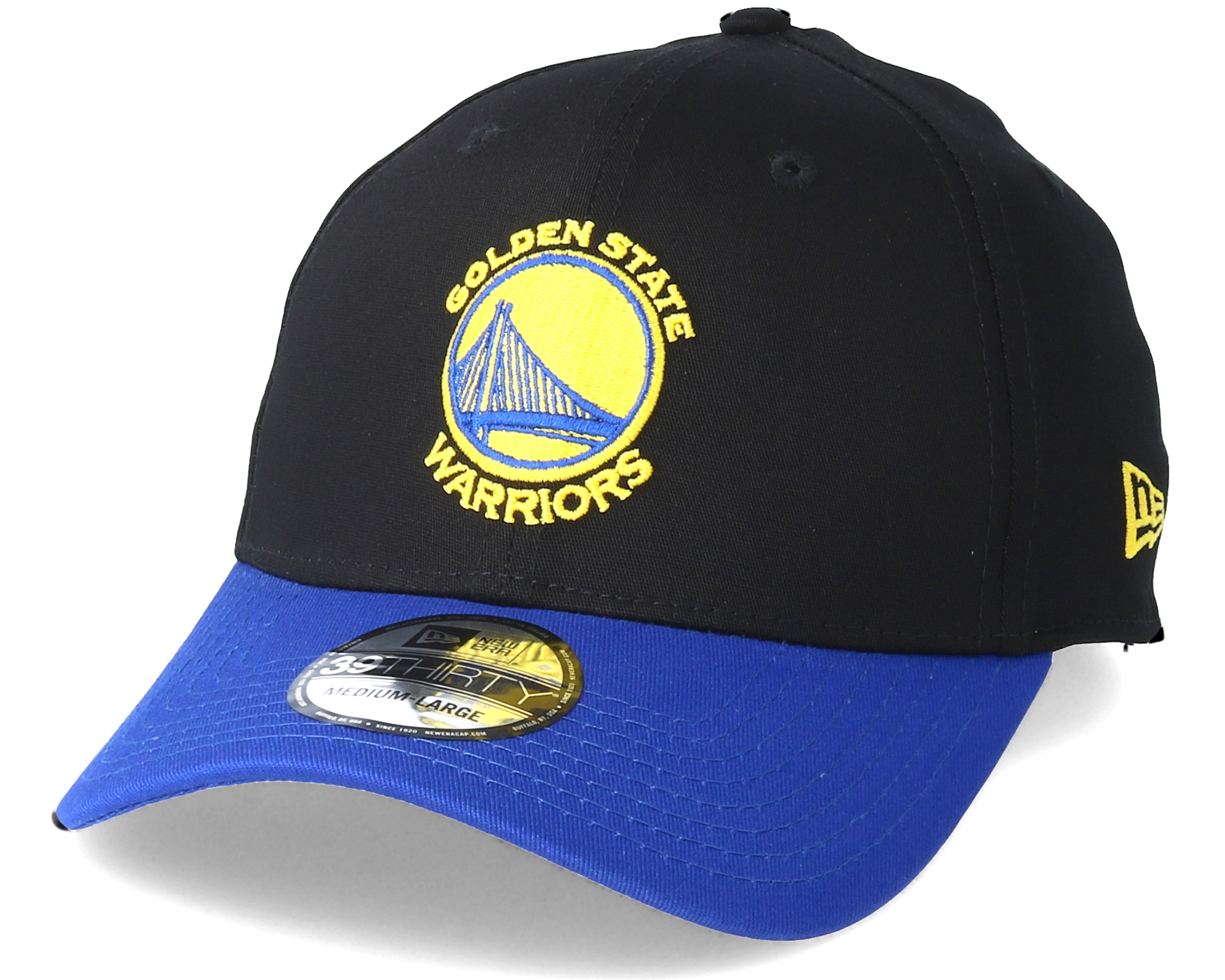 Golden State Warriors Black Base 39Thirty Black Flexfit - New Era ... 2583cda15e6