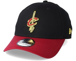 Cleveland Cavaliers Black Base 39Thirty Black Flexfit - New Era