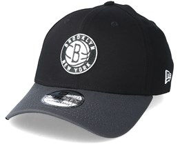 Brooklyn Nets Black Base 39Thirty Black Flexfit - New Era