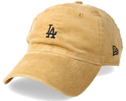 Los Angeles Dodgers 9Forty Cord Unstructured Tan Adjustable - New Era
