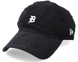 Detroit Tigers 9Forty Cord Unstructured Black Adjustable - New Era