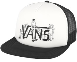 Shaper Gang White/Black Trucker - Vans