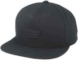 Mini Full Patch Black Snapback - Vans
