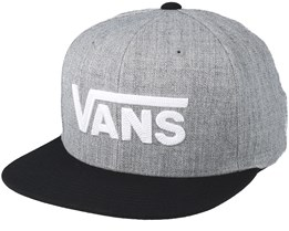 Drop V II  Heather Grey Snapback - Vans