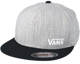 Splitz Heather Grey Fitted - Vans