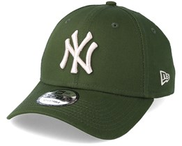 New York Yankees League Essential 9Forty Olive Adjustable - New Era