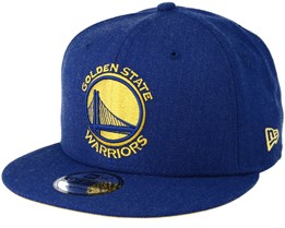 Golden State Warriors 9Fifty Team Heather Blue Snapback - New Era