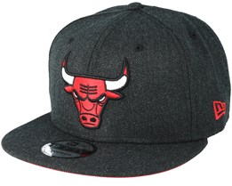 Chicago Bulls 9Fifty Team Heather Grey Snapback - New Era