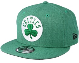 Boston Celtics 9Fifty Team Heather Green Snapback - New Era