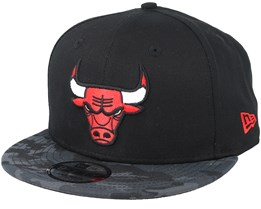 Chicago Bulls Team 9Fifty Black/Camo Snapback - New Era