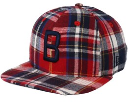Boston Red Sox 9Fifty Spring Plaid Snapback - New Era