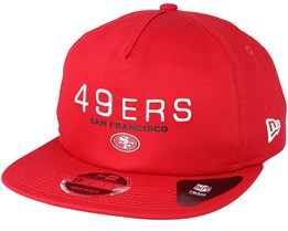 San Francisco 49ers Statement 9Fifty Red Snapback - New Era