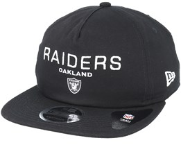 Oakland Raiders Statement 9Fifty Black Snapback - New Era
