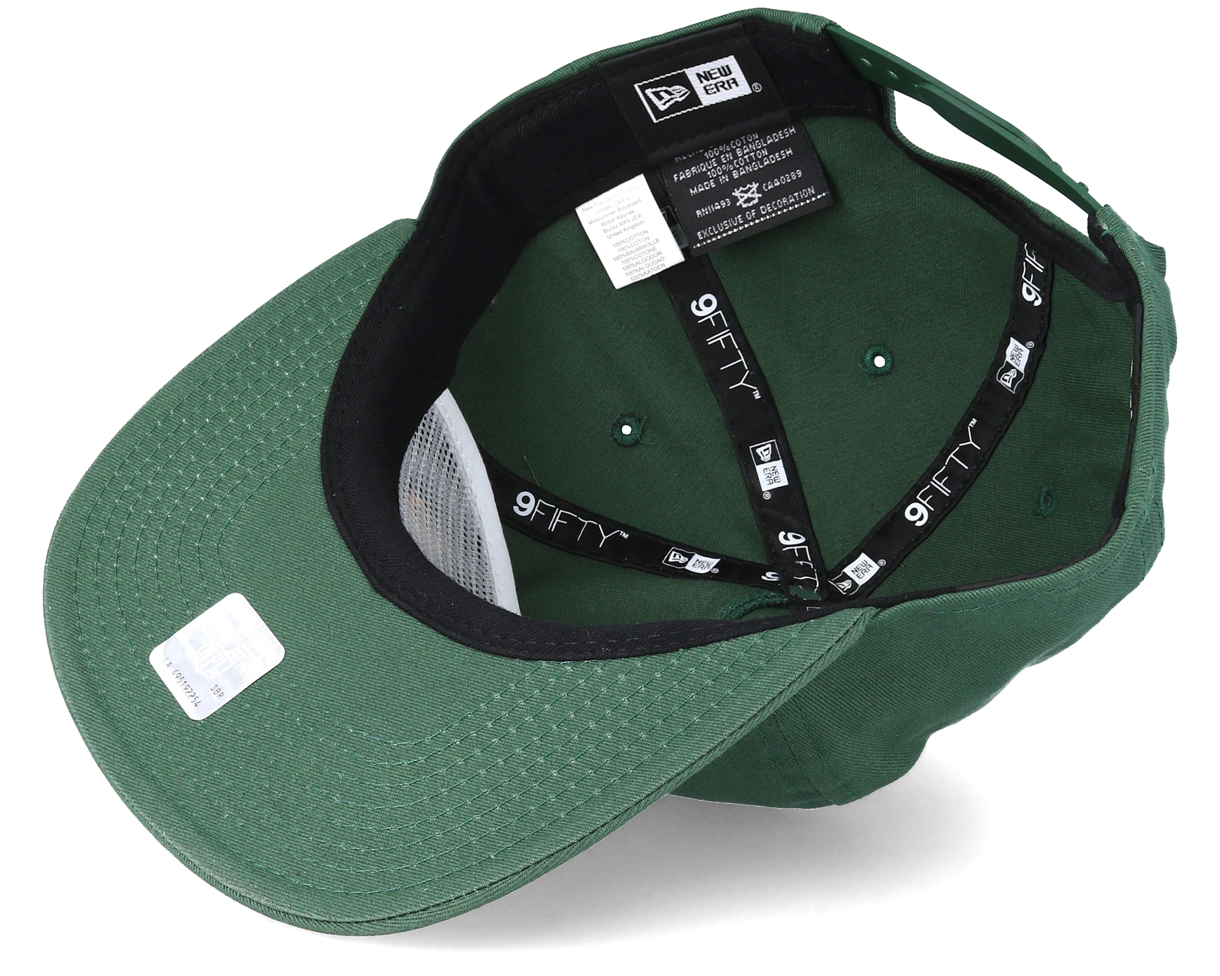 Green Bay Packers Statement 9Fifty Green Snapback - New Era caps ... edac77954