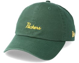 Green Bay Packers Mini Script 9Forty Green Adjustable - New Era