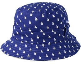 Los Angeles Dodgers Monogram Blue Bucket - New Era