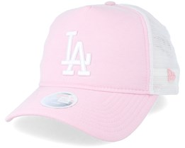 Los Angeles Dodgers Womens Oxford Pink Trucker - New Era