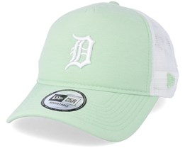 Detroit Tigers Oxford Mint Green Trucker - New Era