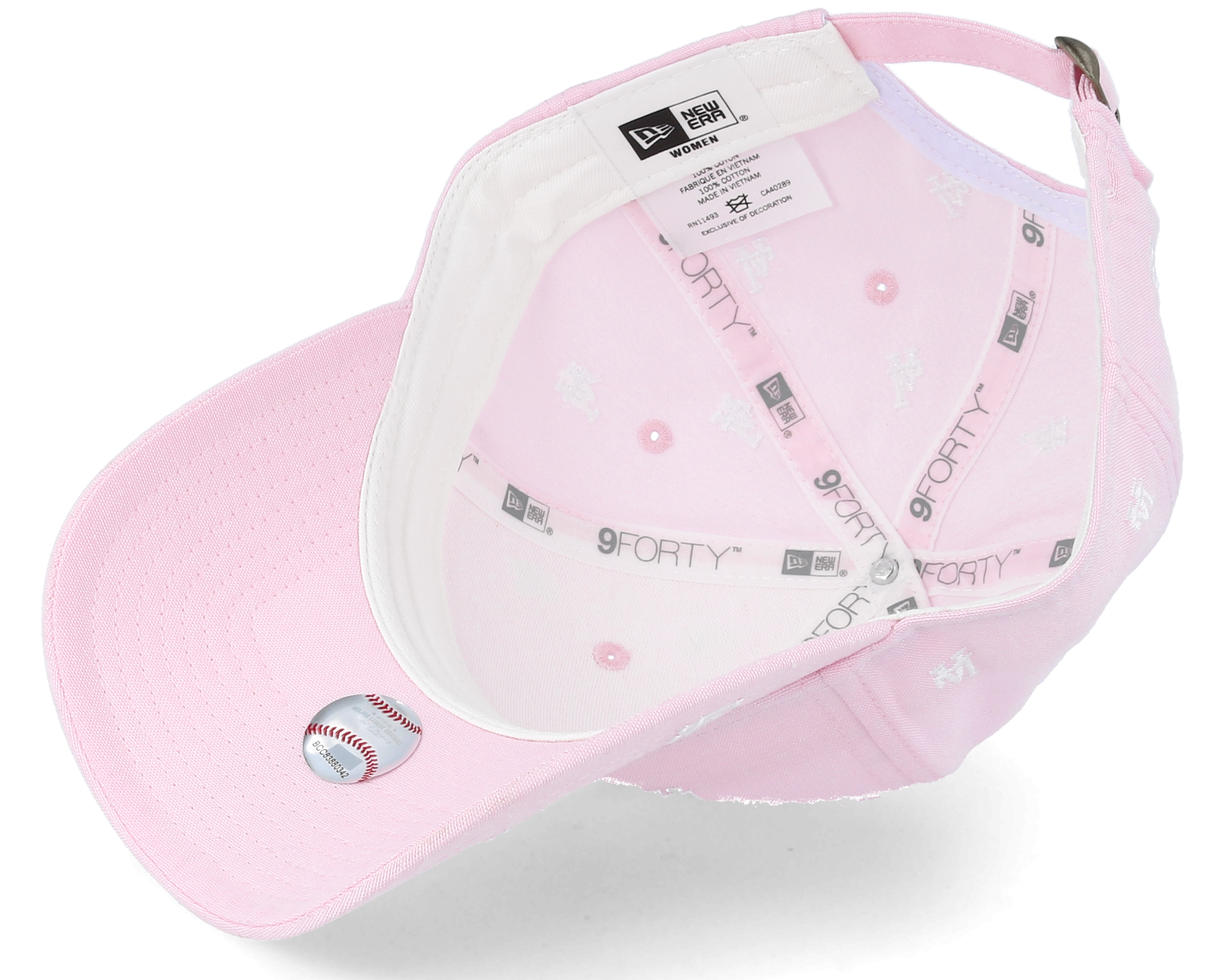 Tuote Kuvaus Los Angeles Dodgers Womens 9Forty Monogram Pink Adjustable - New  Era 837659ea3d