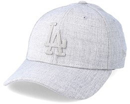 Los Angeles Dodgers 39Thirty Heather Grey Flexfit - New Era