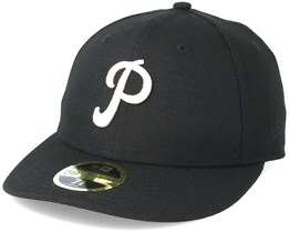 Pittsburgh Pirates Chain Low Profile 59Fifty Black Fitted - New Era