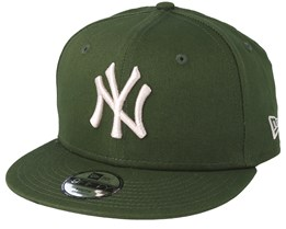Kids New York Yankees League Essential 9FIfty Green Snapback - New Era
