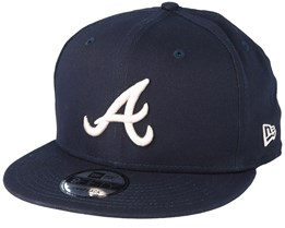 Atlanta Braves League Essential 9Fifty Navy Snapback - New Era