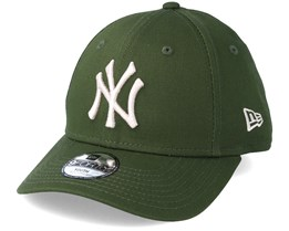 Kids New York Yankees League Essential 9Forty Military Green Adjustable - New Era
