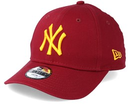 Kids New York Yankees League Essential 9Forty Cardinal Adjustable - New Era