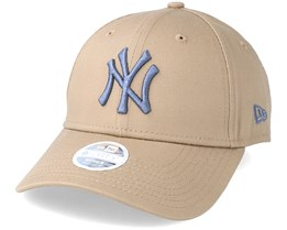 New York Yankees League Essential 9Forty Womens Camel Adjustable - New Era