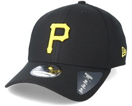 Pittsburgh Pirates Diamond Pop 39Thirty Black Flexfit - New Era