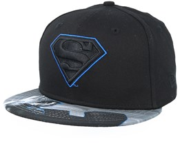 Kids Superman 9Fifty Black Snapback - New Era