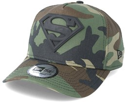 Superman Hero Army Grey Camo Adjustable - New Era