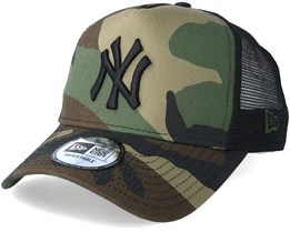 New York Yankees Team 9Forty Camo Trucker - New Era