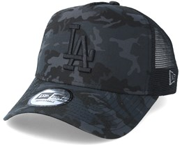 Los Angeles Dodgers Team 9Forty Charcoal Camo Trucker - New Era