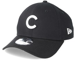 Chicago Cubs 9Forty Black Adjustable - New Era