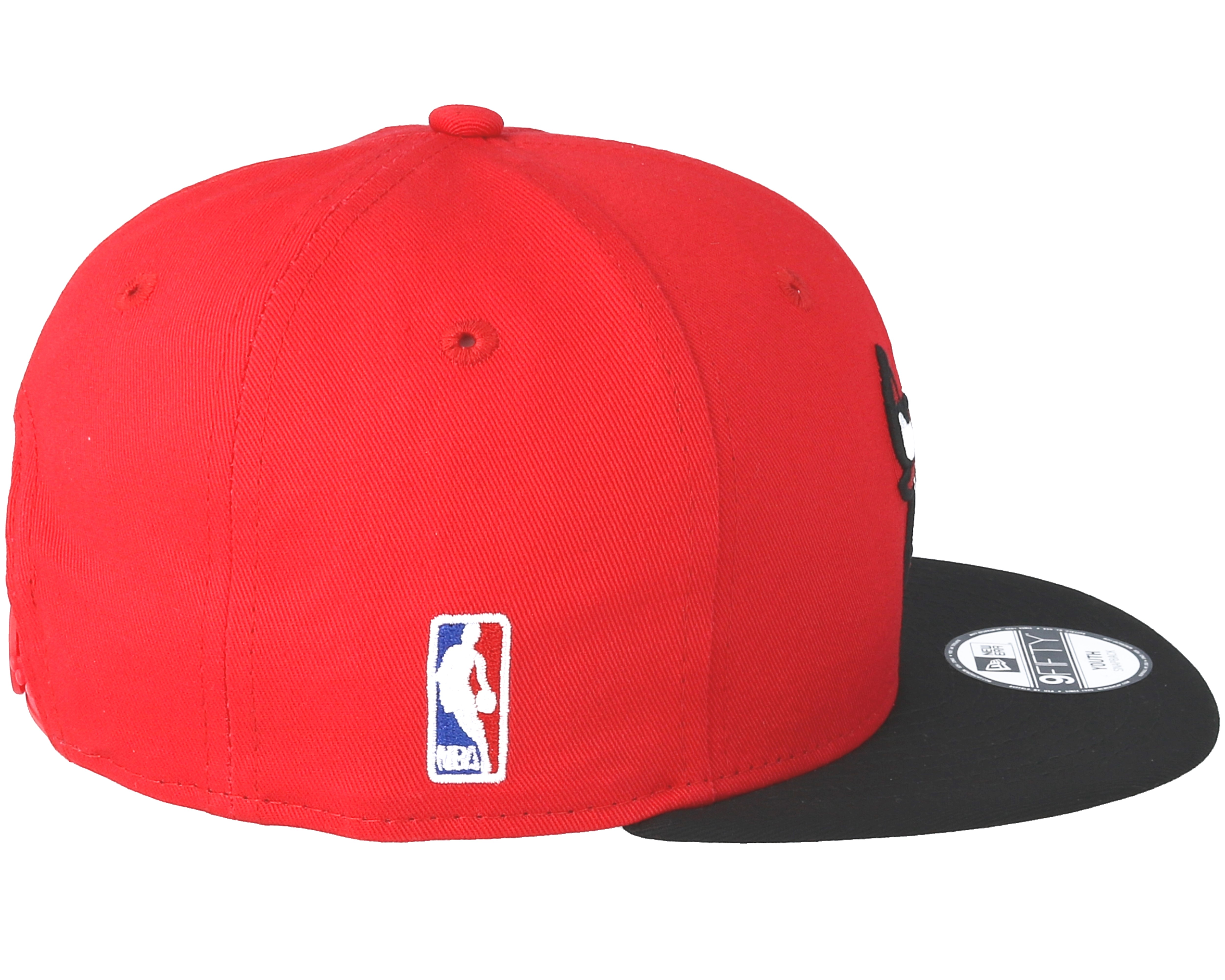 Kids Chicago Bulls Essential 9Fifty Red Snapback - New Era caps | Hatstore.co.uk