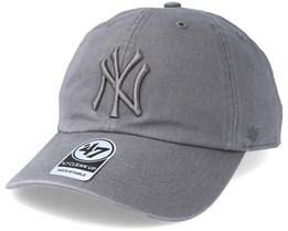 New York Yankees Clean Up Dark Grey Adjustable - 47 Brand