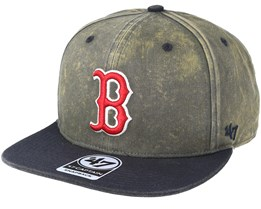 Boston Red Sox Navy Cement Snapback - 47 Brand