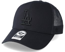 Los Angeles Dodgers Branson Black Trucker - 47 Brand