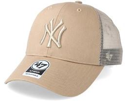 New York Yankees Branson Khaki Trucker - 47 Brand